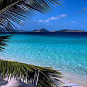 Saloman Beach - St. John Art Print by Stephen  Vecchiotti
