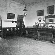 Saloon C. 1890 Art Print