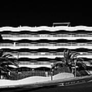 Salou Empty Apartment Properties On The Costa Dorada Catalonia Spain Art Print