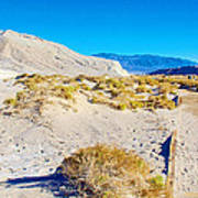 Salt Creek Boardwalk Trail In Death Valley National Park-california  Art Print