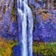 Salt Creek Falls Art Print