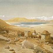 Salt Lake - Thibet, From India Ancient Art Print