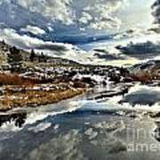 Salt River Pass Art Print