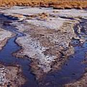 Salt Stream Confluence Art Print