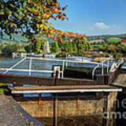 Saltford Locks  Art Print