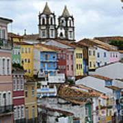 Salvador Brazil The Magic Of Color 2 Art Print