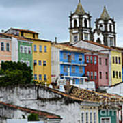 Salvador Brazil The Magic Of Color Art Print