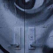 Salvador Dali Doors Graffiti Art Art Print