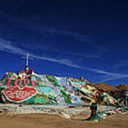 Salvation Mountain Print by Laurie Search
