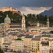 Salzburg After The Storm Art Print