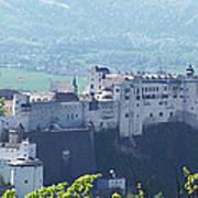 Salzburg Fortress Panorama Art Print