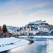 Salzburg Winter Fairy Tale Art Print