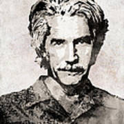 Sam Elliott 3 Art Print