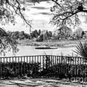 Sampit River View Art Print by John Rizzuto