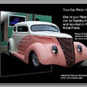 Sample Car Artwork Readme Art Print
