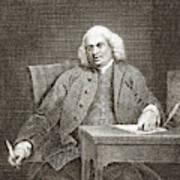 Samuel Johnson, English Author Art Print