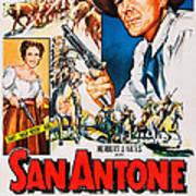 San Antone, Us Poster Art, From Left Art Print