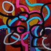 San Antonio Shuffle Art Print