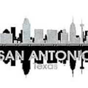 San Antonio Tx 4 Art Print