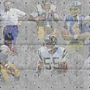 San Diego Chargers Legends Art Print