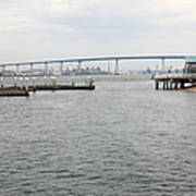 San Diego Coronado Bridge 5d24351 Art Print