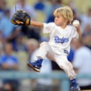San Diego Padres v Los Angeles Dodgers Art Print