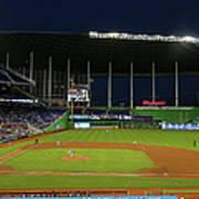 San Diego Padres V Miami Marlins Art Print