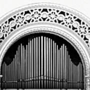San Diego Spreckels Organ Art Print