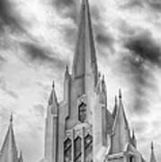 San Diego Temple Art Print