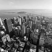 San Francisco Aerial Art Print