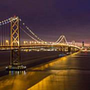 San Francisco Bay Bridge Art Print by Pierre Leclerc Photography