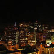 San Francisco By Night Art Print