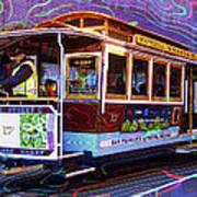 San Francisco Cable Car No. 17 Art Print