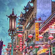 San Francisco Chinatown Art Print