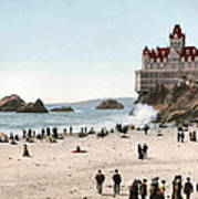 San Francisco Cliff House 1902 Art Print