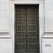 San Francisco Emporio Armani Store Doors - 5d20538 Art Print