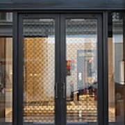 San Francisco Graff Store Doors - 5d20569 Art Print by Wingsdomain Art and Photography