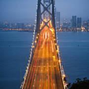 San Francisco - Oakland Bay Bridge Art Print