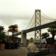 San Francisco Oakland Bay Bridge Art Print