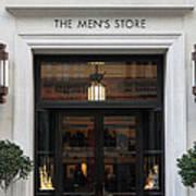San Francisco Saks Fifth Avenue Store Doors - 5d20573 Art Print