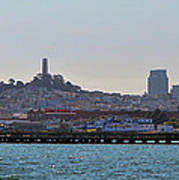 San Francisco Skyline -2 Art Print
