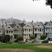 San Francisco - The Painted Ladies I Art Print