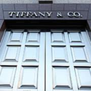 San Francisco Tiffany And Company Store Doors - 5d20562 Art Print