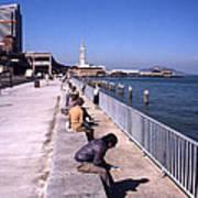 San Francisco Waterfront 1975 Art Print