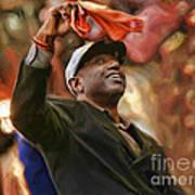 San Fransco Giants Barry Bonds Art Print