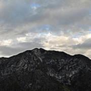 San Gabriel Mountains Evening Art Print