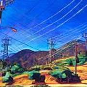 San Gabriel Power Art Print