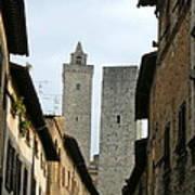 San Gimignano Italy Art Print