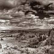 San Gimignano View Art Print
