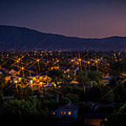 San Jose At Dusk Art Print